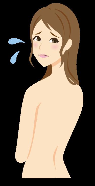 全身脱毛するデメリットとして乾燥肌になる可能性がある