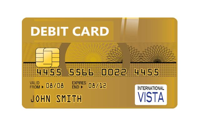 ストラッシュの支払い方法(デビットカード払い)